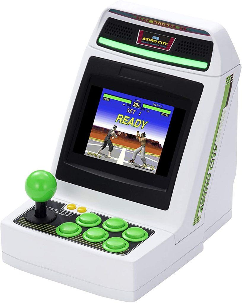 アーケード筐体型のゲーム機ミニ
